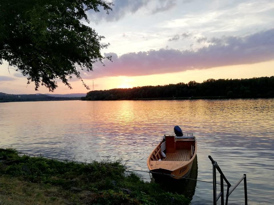Sonnenuntergang Boot PortoVelo